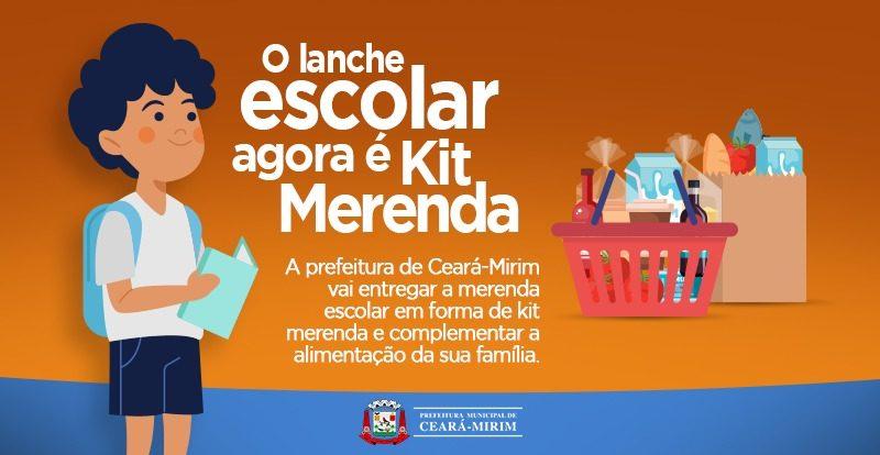 Prefeitura inicia segunda fase de distribuição dos Kits Merenda