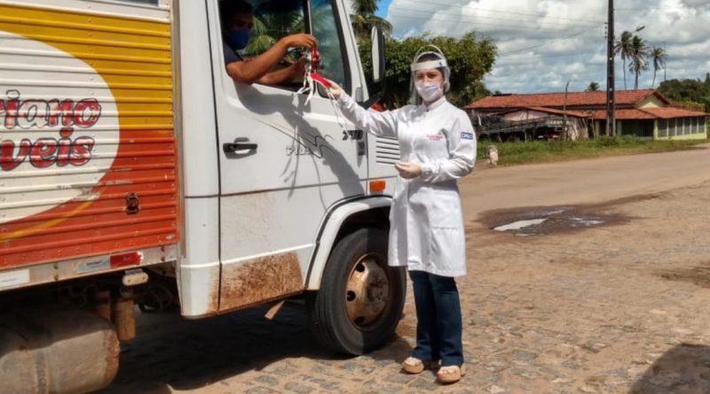 Unidade Básica de Saúde de Capela promove ação em combate a Covid-19