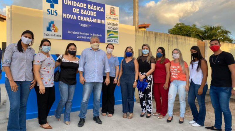 Prefeitura entrega Unidade Básica de Saúde para moradores de Nova Ceará-Mirim