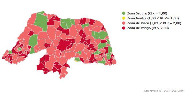 Ceará-Mirim tem uma das menores taxas de transmissibilidade da COVID-19 no RN