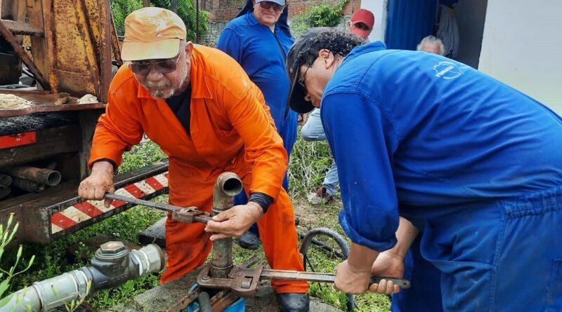 FUNASA e SAAE iniciam limpeza de poços tubulares profundos de Ceará-Mirim